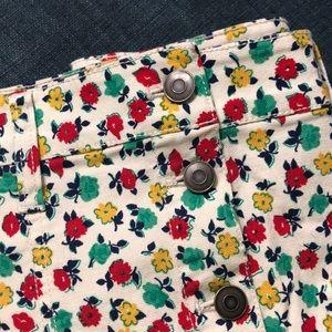 J.crew Factory Denim Skirt